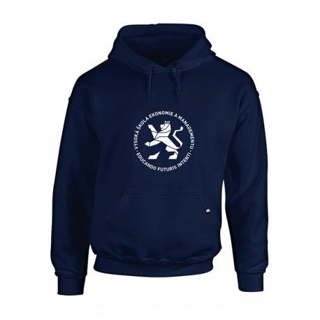 Univerzitní mikina modrá