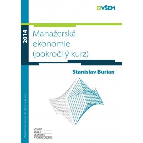 Manžerská ekonomie (pokročilý kurz)