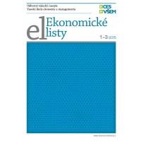 Ekonomické listy 1-3/2015