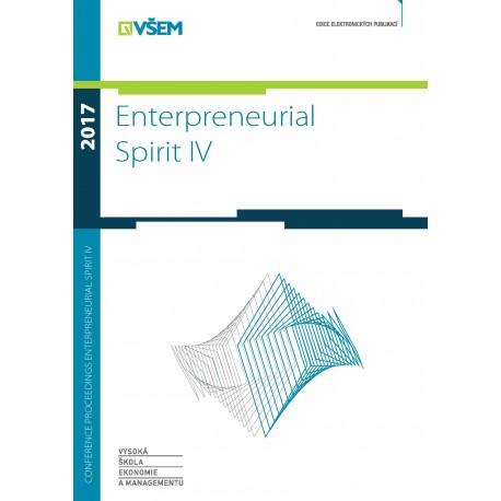 Conference Proceedings - Enterpreneurial Spirit IV