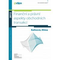 Finanční a právní aspekty obchodních transakcí